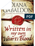 Written in My Own Hearts Blood by Diana Gabaldon Extract