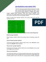 Ukuran Lapangan Sepakbola Sesuai Standar FIFA