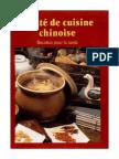 Traité de cuisine chinoise
