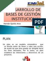 Desarrollo de Bases de Gestión Institucional