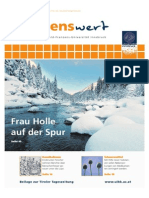 wissenswert Dezember 2014 - Magazin der Leopold-Franzens-Universität Innsbruck