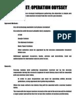 12 bcp operation odyssey
