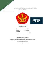 EKSTRAKSI DAN IDENTIFIKASI KOMPONEN KIMIA DAUN PEPAYA.doc