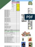 Lista de Productos Sanidad