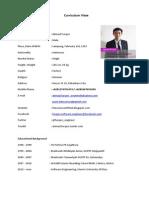 CV for Asia Foundation