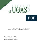 Laporan Hasil Kunjungan Industri (copas)