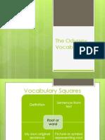 the odyssey vocabulary