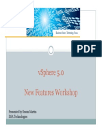 VMware VSphere 5 What You Need to Know Presentation