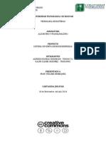 Estructura de un Proyecto de Algoritmo