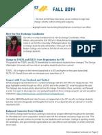 GW Fall 2014 Newsletter
