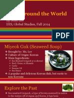 Food Around the World - Model