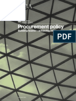 Procurement Policy