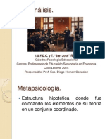 Psicoanálisis - Tografía del aparato psíquico (Freud)