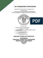 Manajemen Pemasaran STP Method Garuda Indonesia