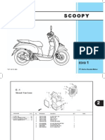 Honda Scoopy Parts Catalogue