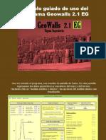 Tutorial GeoWalls 2.1