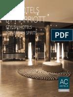 Ac Hotels by Marriott Design Standards Brochure