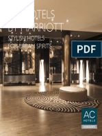 Ac Hotels by Marriott Design Standards Brochure