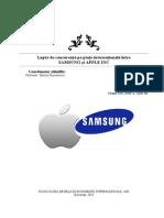 Proiect Marketing - Samsung vs Apple - 2014