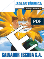 Catálogo Técnico Energía Solar Térmica de Salvador Escoda 2002