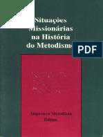 Situacões missionarias na história do metodismo