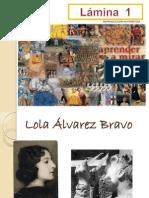 LÁMINA 1 Lola Álvarez Bravo