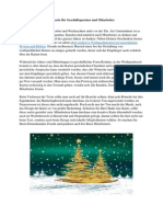 Die richtige Weihnachtskarte für Geschäftspartner und Mitarbeiter