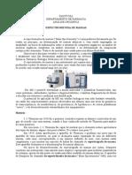 Aula - Espectrometria de Massas.doc