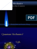 Quantum mechanics presentation