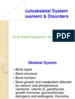 Musculoskeletal System Lecture 3