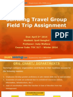 sunwing travel group assignment docx