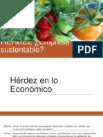 Sustentabilidad Grupo Herdez