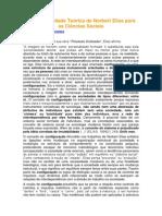 A Atualidade Teórica de Norbert Elias Para as Ciências Sociais (Bom!)