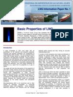 Propiedades básicas del gas licuado