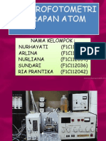 Ppt Spektrofotometer Serapan Atom