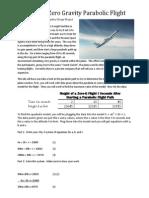 nate cain math 1010 eportfolio zero-g flight path