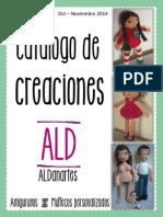 Catalogo de Creaciones ALDanartes 2014