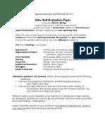 comm 1020 signature instruct reflection fall 2014