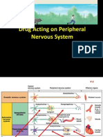 Drugs Acting on Peripheral Nervous System