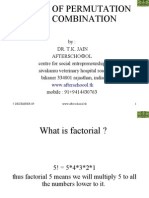 Basics of Permutation and Combination