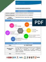 Plan Secuencia Didáctica Individual Jorge