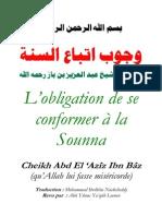 Obligation Conformer Sunna Ibn Baz