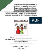 Libro Plan Especifico