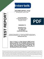 INTERTEK Diaphragm Shear Test Report Fina