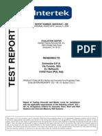 INTERTEK Mortar and Concrete Properties Test Report Final