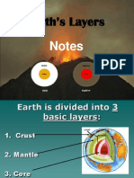 Earth's Layers Notes
