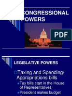 congressional powers