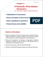 Statically Determinant Structure