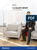Rotman Full Time MBA Employment and Salary Report 2013 2014