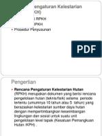 Bab 8-1. Rencana Pengaturan Kelestarian Hutan
